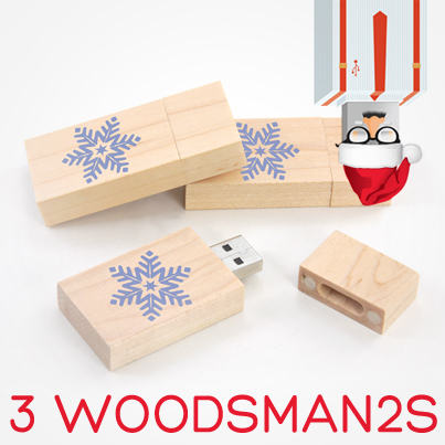 12 Days USB Xmas Woodsman 2