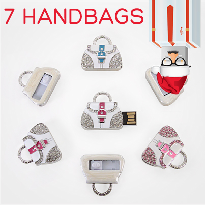 12 Days USB Xmas Handbag USB Drive