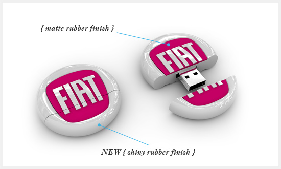 Rubber Custom Shapes USB