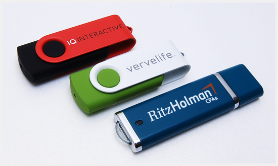 USB in Custom Colors