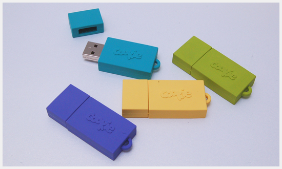 Cookie Magazine Custom Rubber Drives