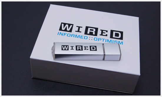 Wired Magazine Etch2 USB Drives