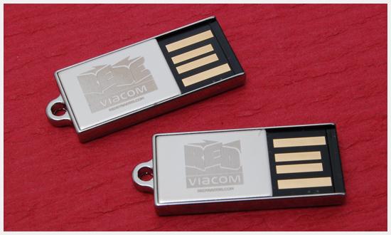 MTV Viacom MicroKey Flash Drives