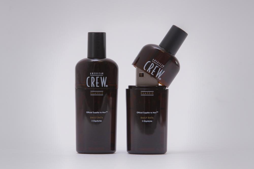 American Crew Shampoo Bottle USB Drive