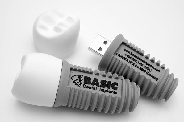Basic Dental Implants USB Drive