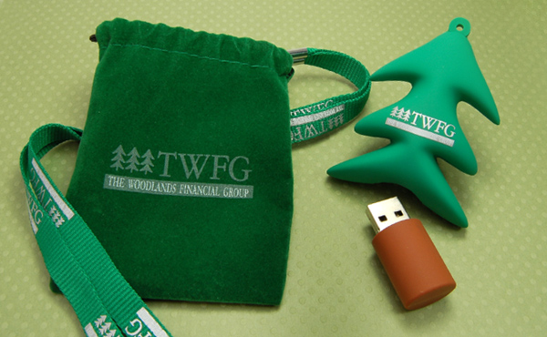 Christmas Tree USB Drives