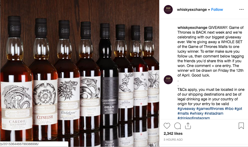 Whisky Exchange Giveaway