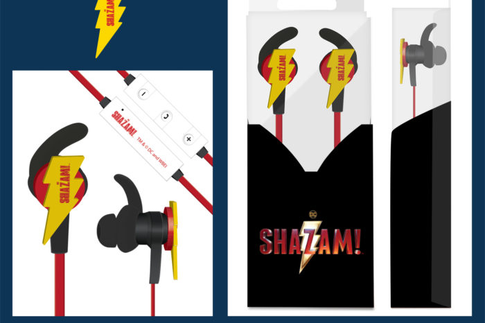 CustomUSB Drums up Excitement for the Movie Shazam with Creative Earbud Design