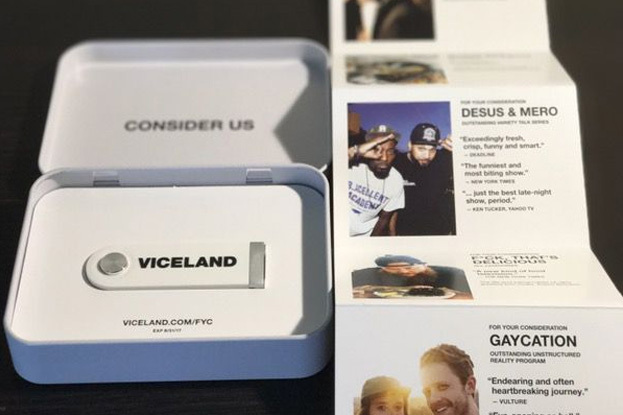 VICELAND Utilizes Custom USBs in Winning Emmy Nomination Campaign