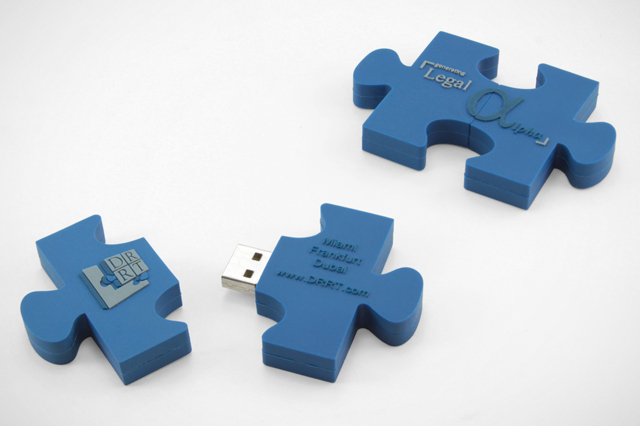 Custom Missing Piece USB Drive DRRT