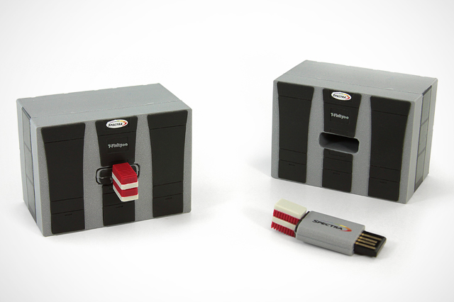 Custom Spectra USB Drive