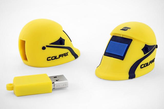 Colfax ESAB Custom Welding Helmet USB Drive