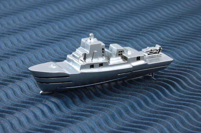 Custom Metal Ship USB Drive