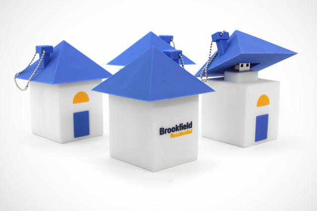 Brookfield Residential Custom USB Drive