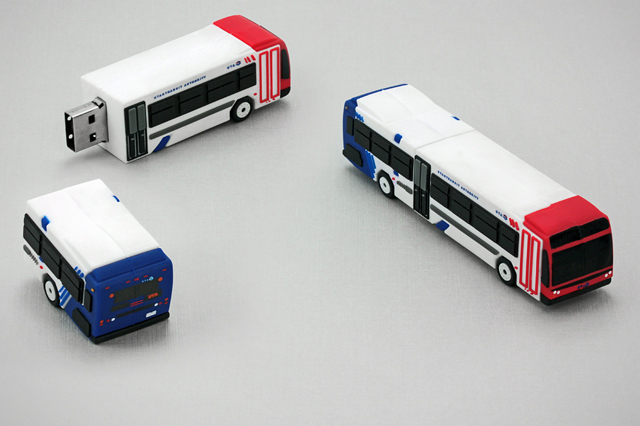 Utah Transit Authority Custom Bus USB Drive