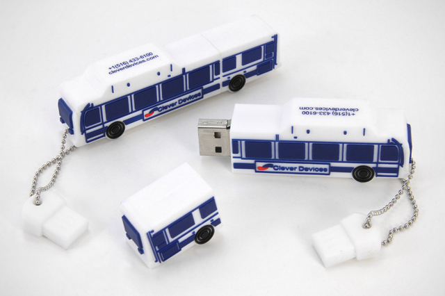 Clever Devices Custom Bus USB Drive