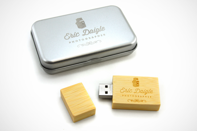 Eric Daigle Photography Custom Woodsmen2 USB Drive