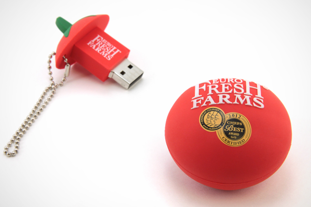 Euro Fresh Farm Custom USB Drive