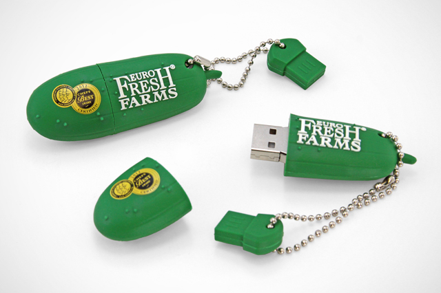 EuroFresh Farms Custom Cucumber USB Drive