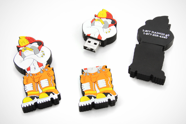 Custom Fire Dawg USB Drive