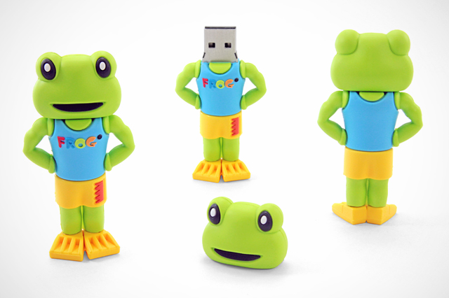 King Technology Custom FROG USB Drive