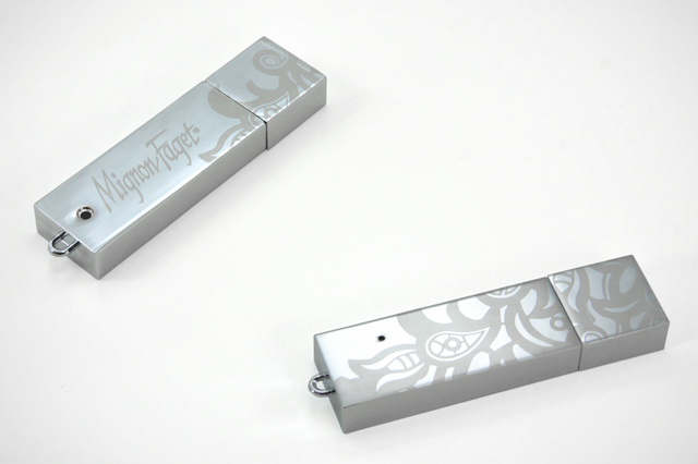 Custom Odin USB Drive Mignon Faget Jewelry