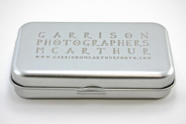 Garrison McArthur Photographers Custom USB Drive
