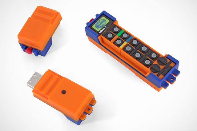 Custom HBC-radiomatic micron 7 USB Drive