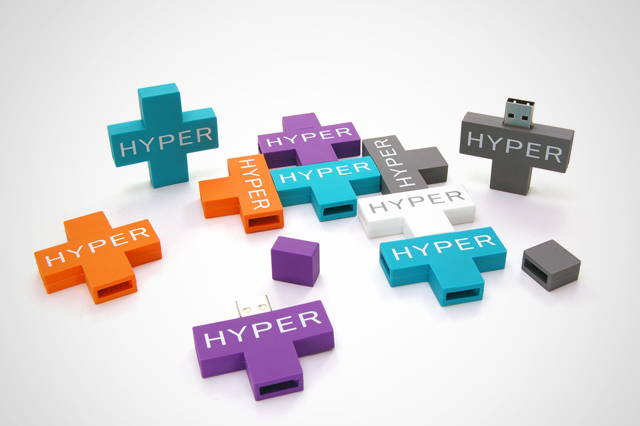 Hyper Custom USB Drives