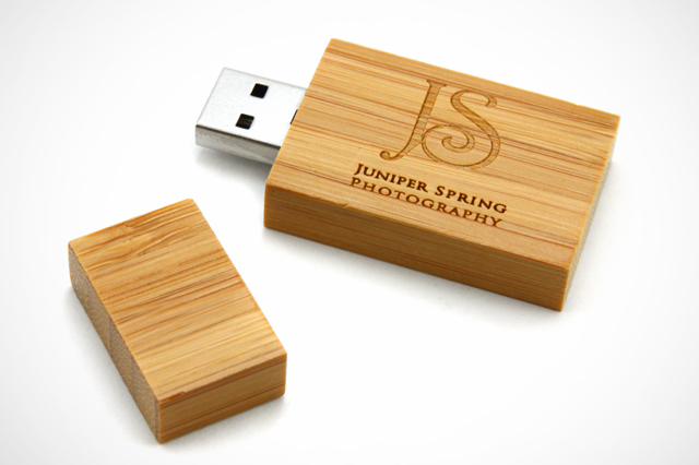 Juniper Spring Photography Custom Woodsman2 USB Drive