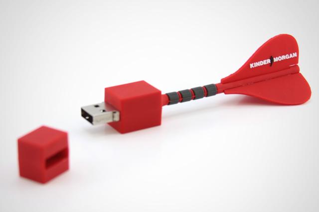 Kinder Morgan Custom USB Drive