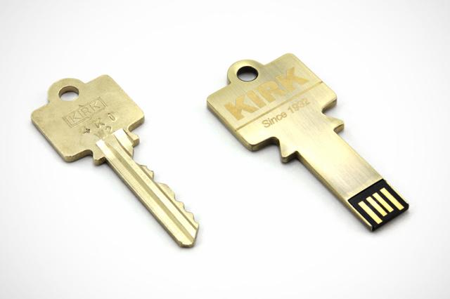 KIRK Key Custom USB Drive