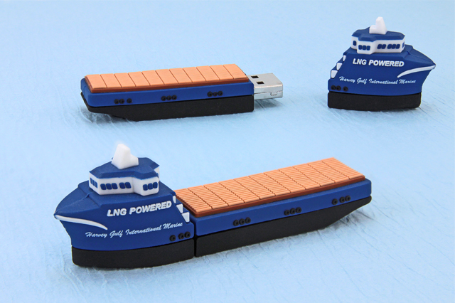 Custom Harvey Gulf International Marine Ship USB Drive