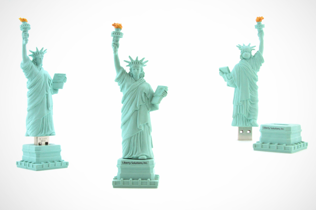 Liberty Solutions, Inc. Custom Lady Liberty USB Drive