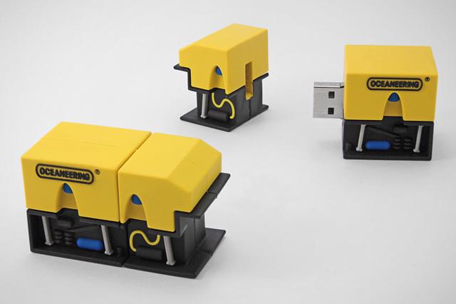 Custom Oceaneering Millennium Plus ROV USB Drive