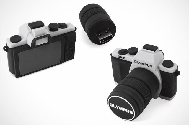 Custom OM-D Olympus Camera Replica USB Drive