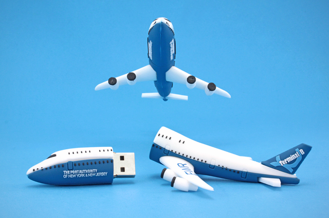 Port Authority of NY & NJ Custom Jet USB Drive