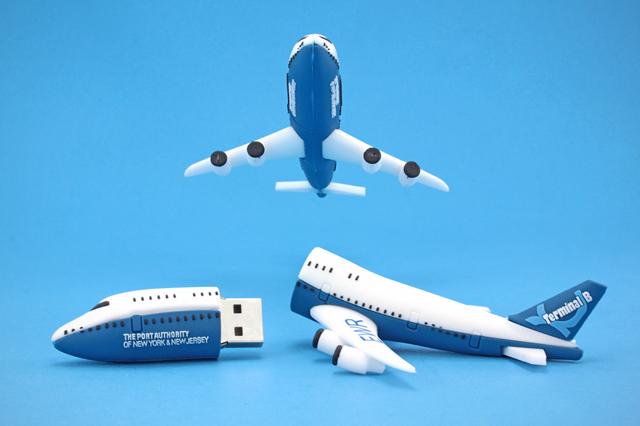 Port Authority of NY & NJ Custom Jet USB Drive