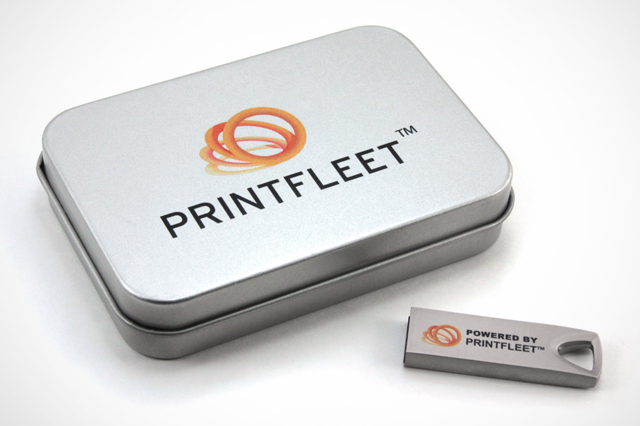 Custom Proton USB Drive PrintFleet