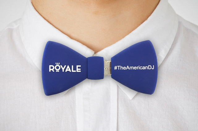 DJ Royale Custom Bow Tie USB Drive