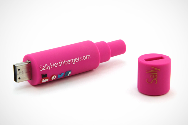 Sally Hersberger Custom USB Drive