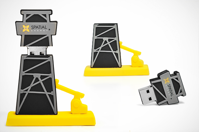 Spatial Energy Custom USB Flash Drive