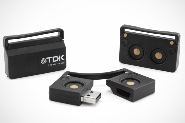 TDK Wireless Boombox Custom USB Drive