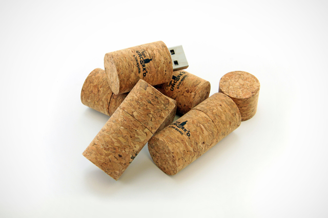 Vegas Uncork'd Wine Cork Custom USB Drives