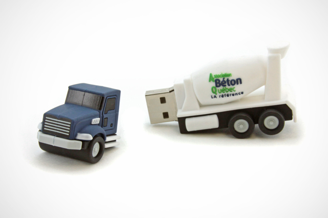 Beton Quebec Custom USB Drives