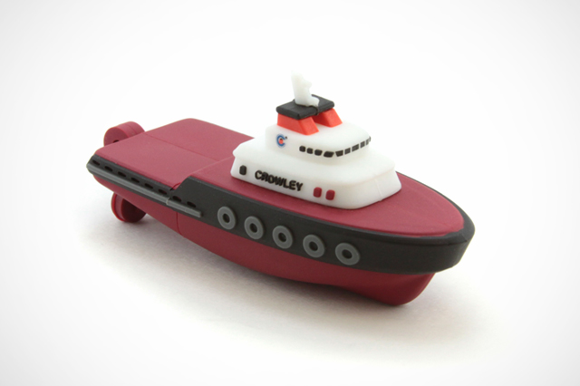 Crowley Tug Boat Custom USB Drive