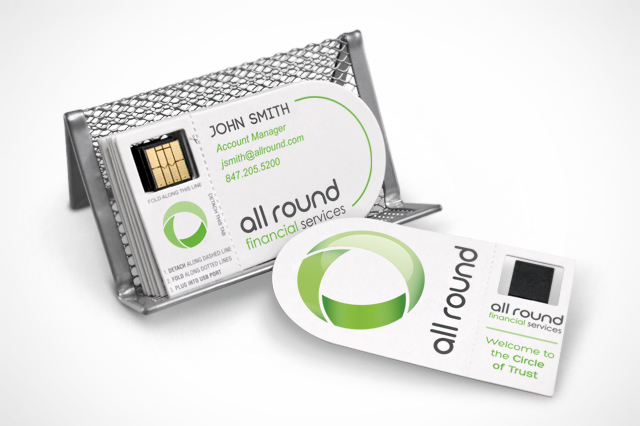 CustomUSB Direct Mail Solutions - Smart Business Card