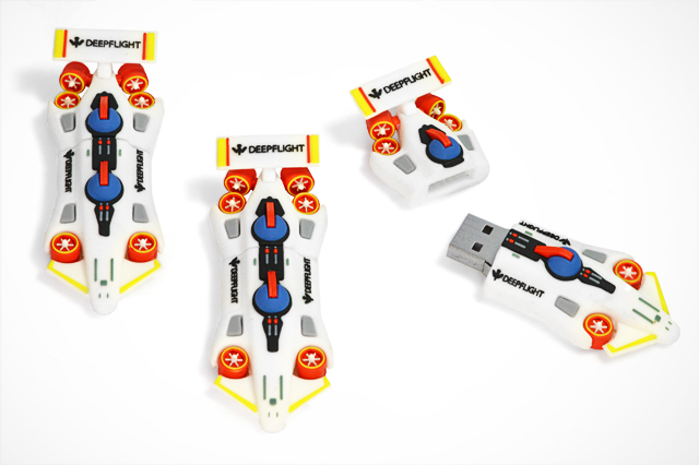CustomUSB | Deepflight Dragon Sibmarine Replica USB Flash Drive