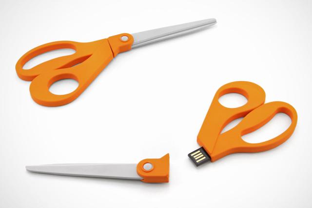 Fiskars Scissor Custom USB Drive