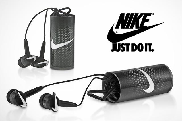 Nike Custom Shape PVC Earbuds